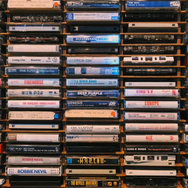 Nathaniel Farrell writes about music cassette tapes and vinyl for KDHX