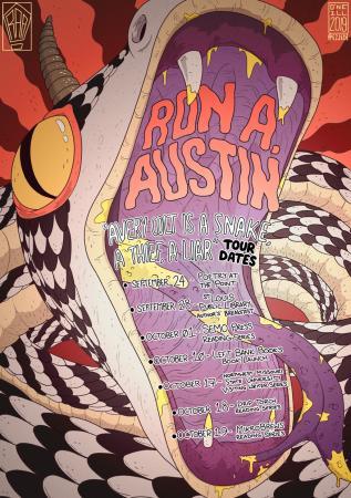"""Ron A. Austin """"Avery Colt Is a Snake, a Thief, a Liar"""" Tour"""