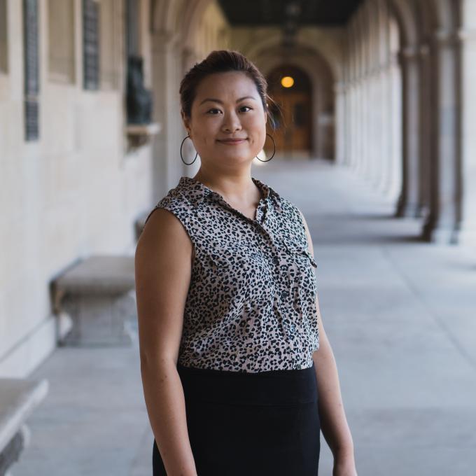 Headshot of Tina Shen