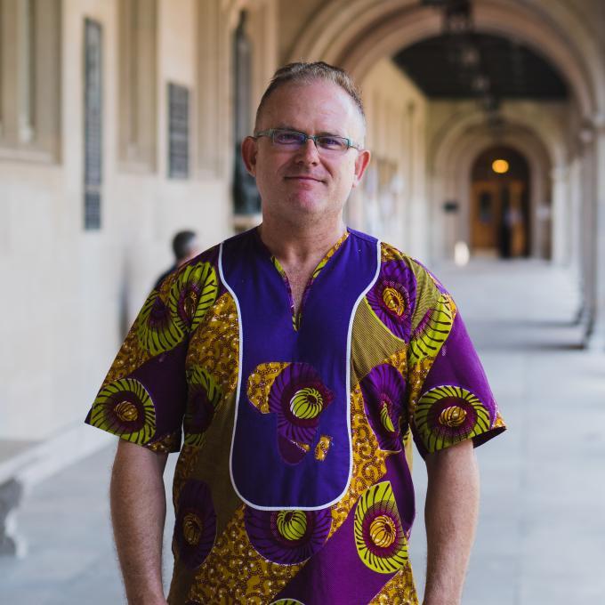Headshot of Chris King